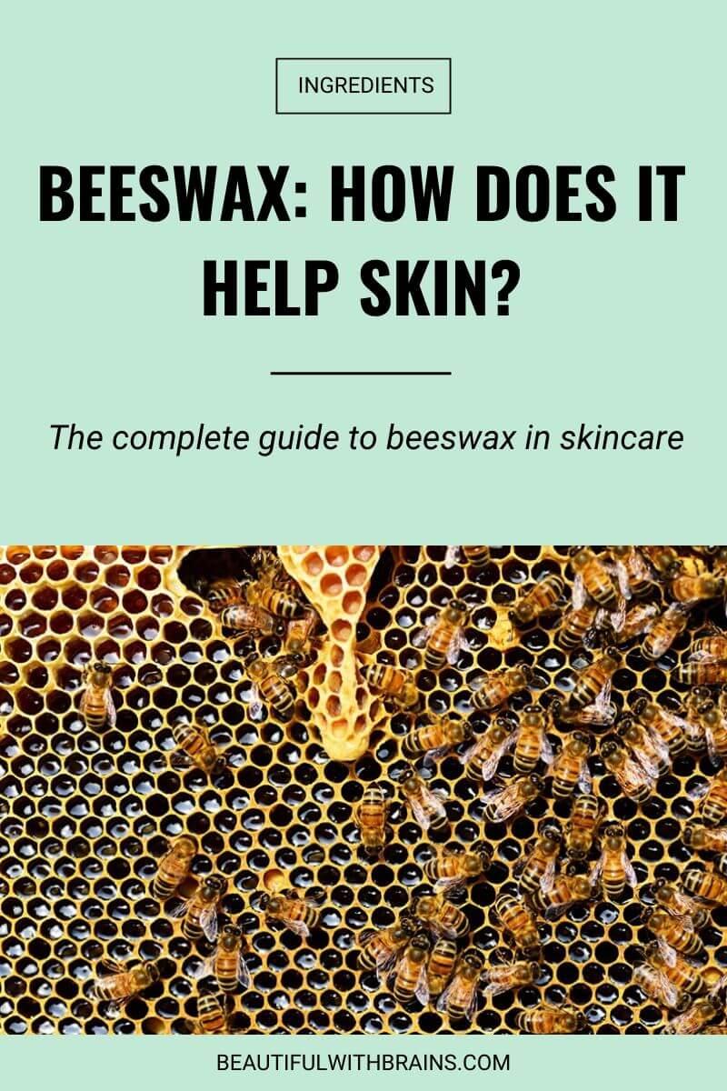 how beeswax helps skin