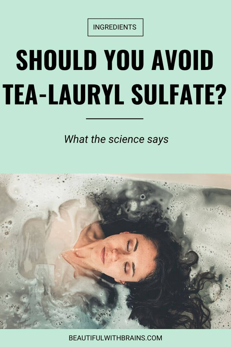 should you avoid tea-lauryl sulfate