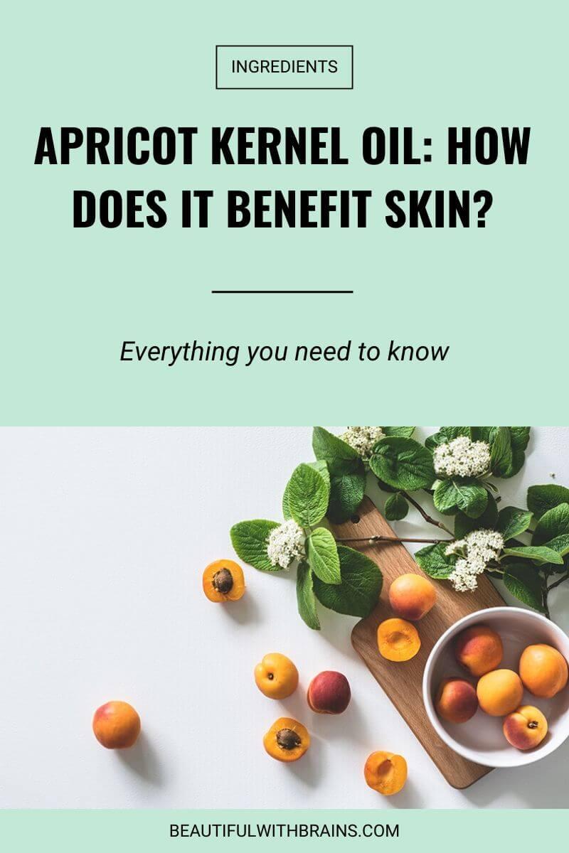 skincare apricot kernel oil