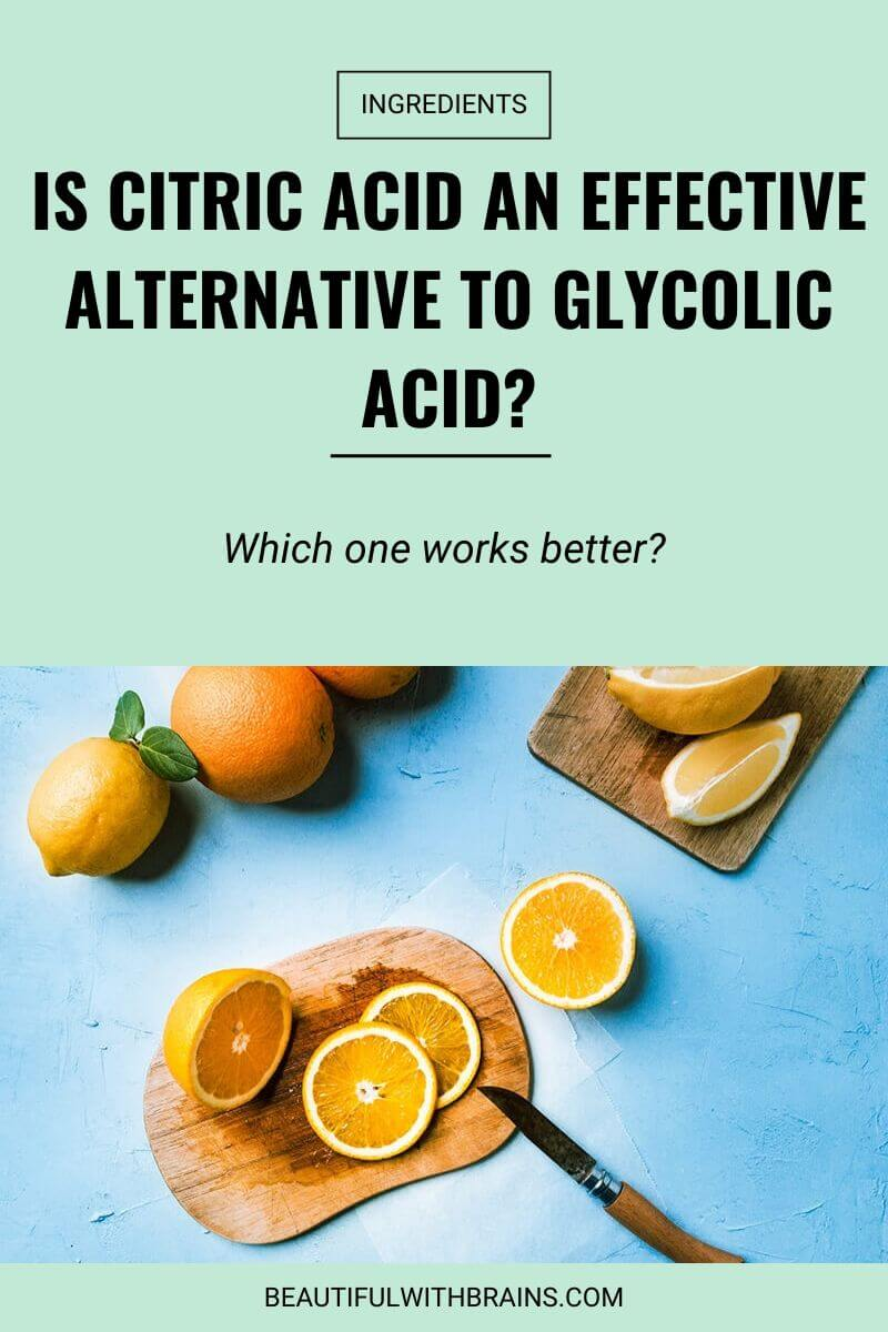 citric acid skincare