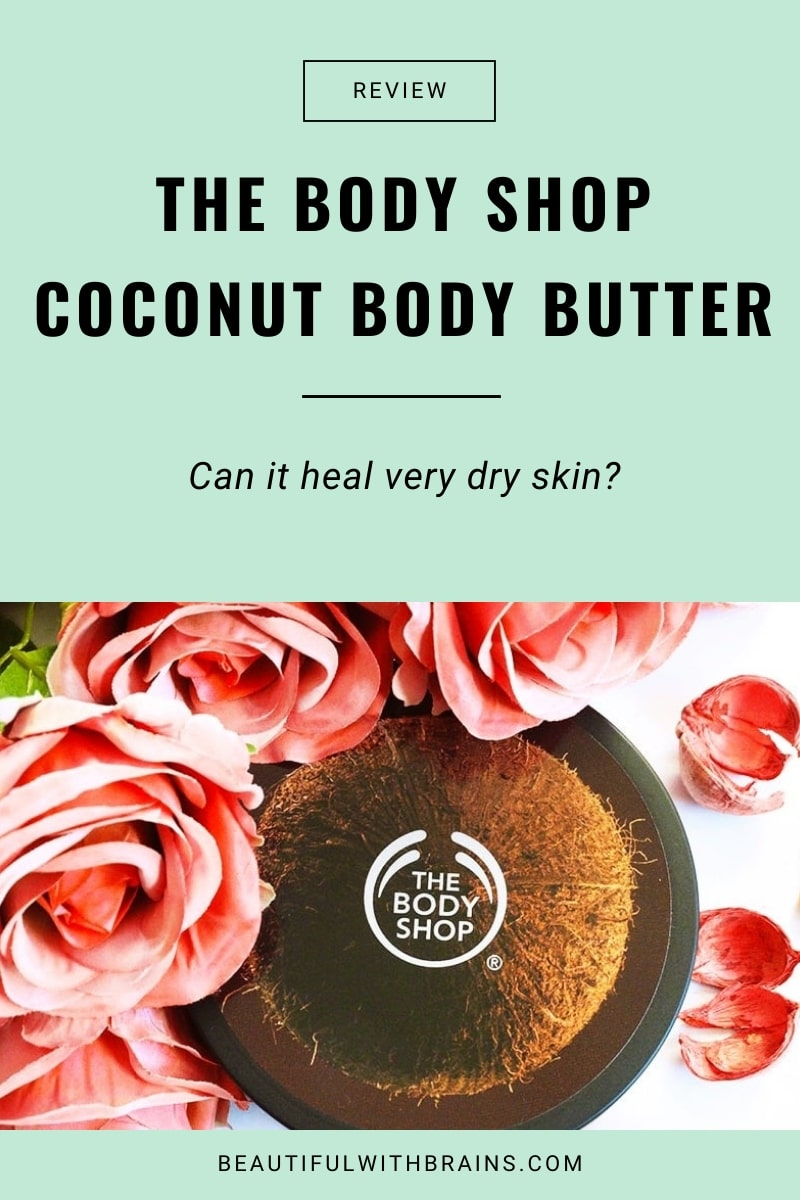 review the body shop coconut body butter