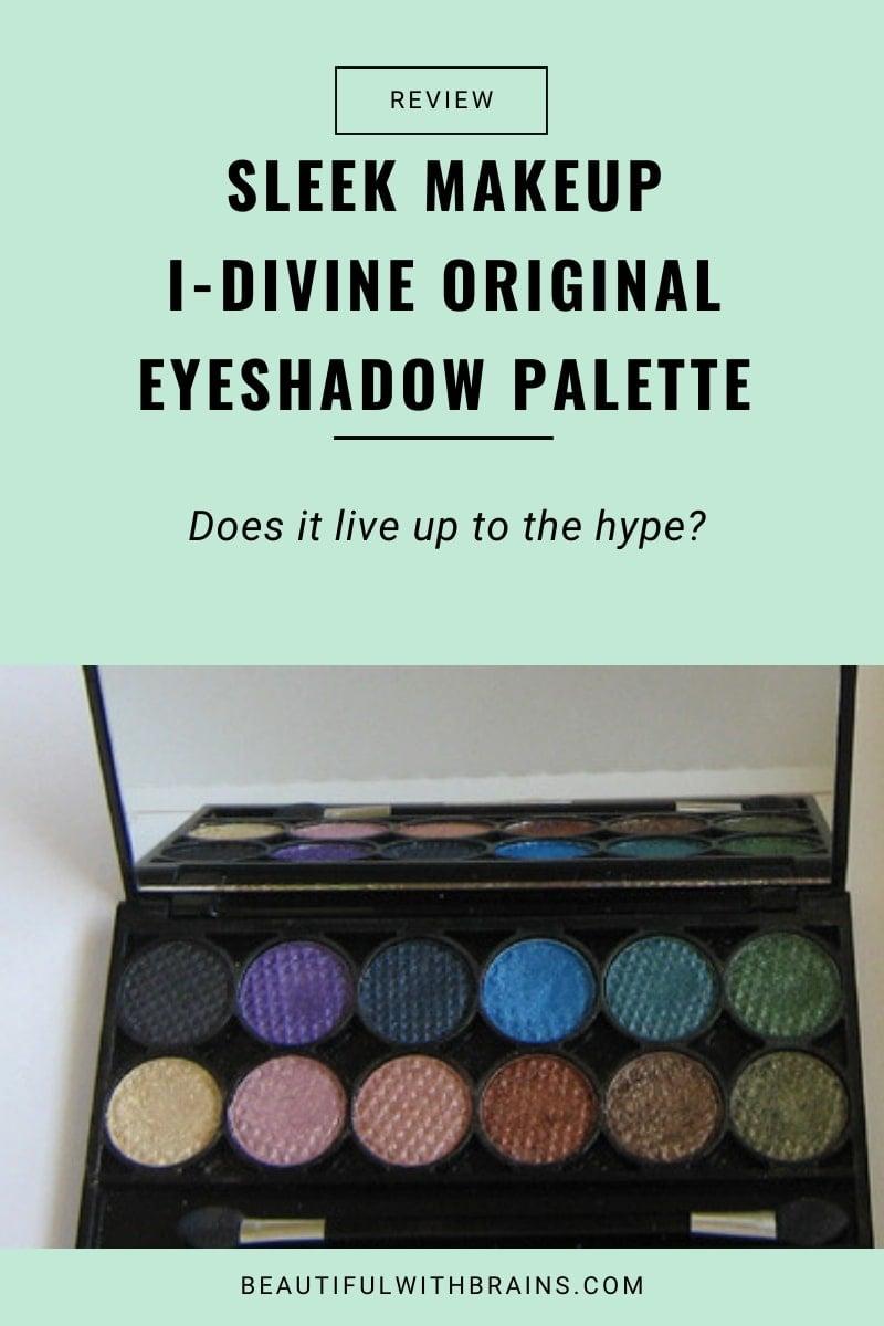 review sleek makeup i-divine original eyeshadow palette
