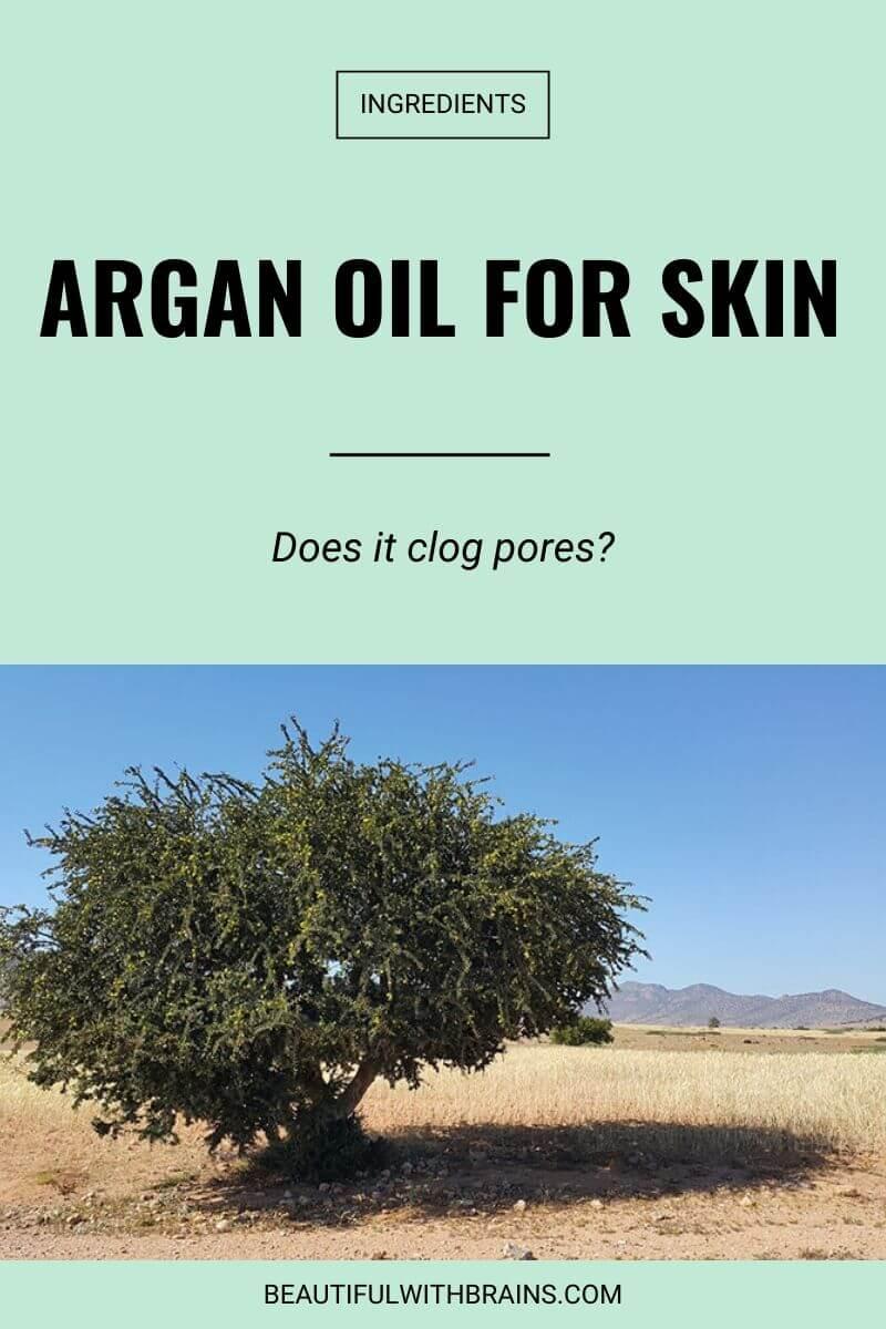 is argan oil good for skin
