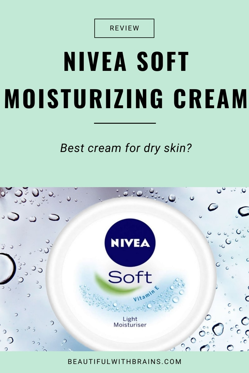 nivea soft moisturising cream review