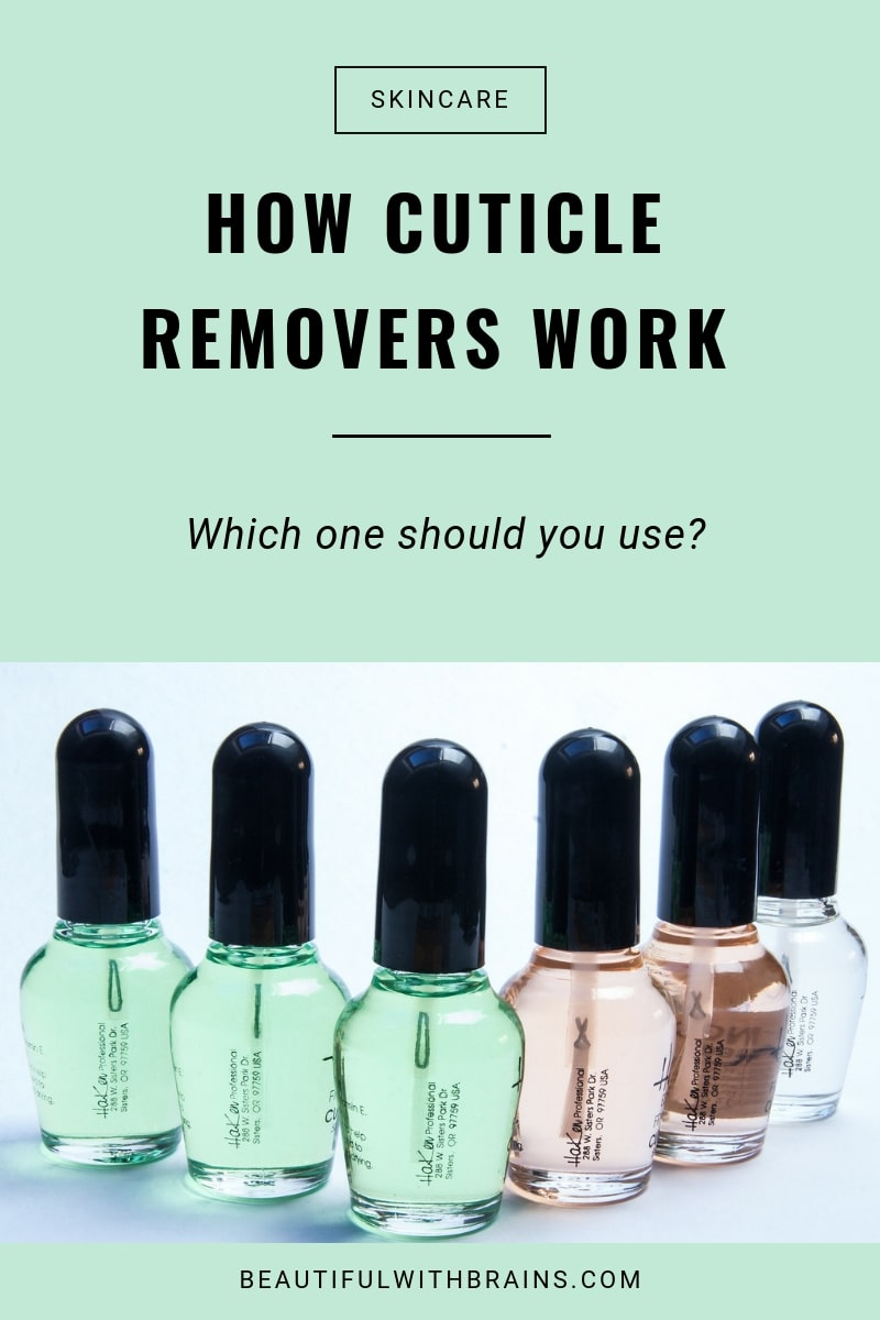 how cuticle removers work