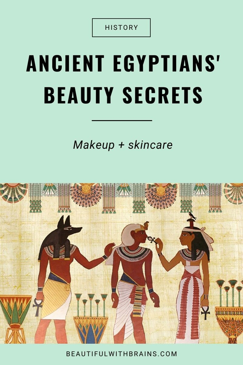 Beauty History: Cosmetics in Ancient Egypt – Beautiful With Brains