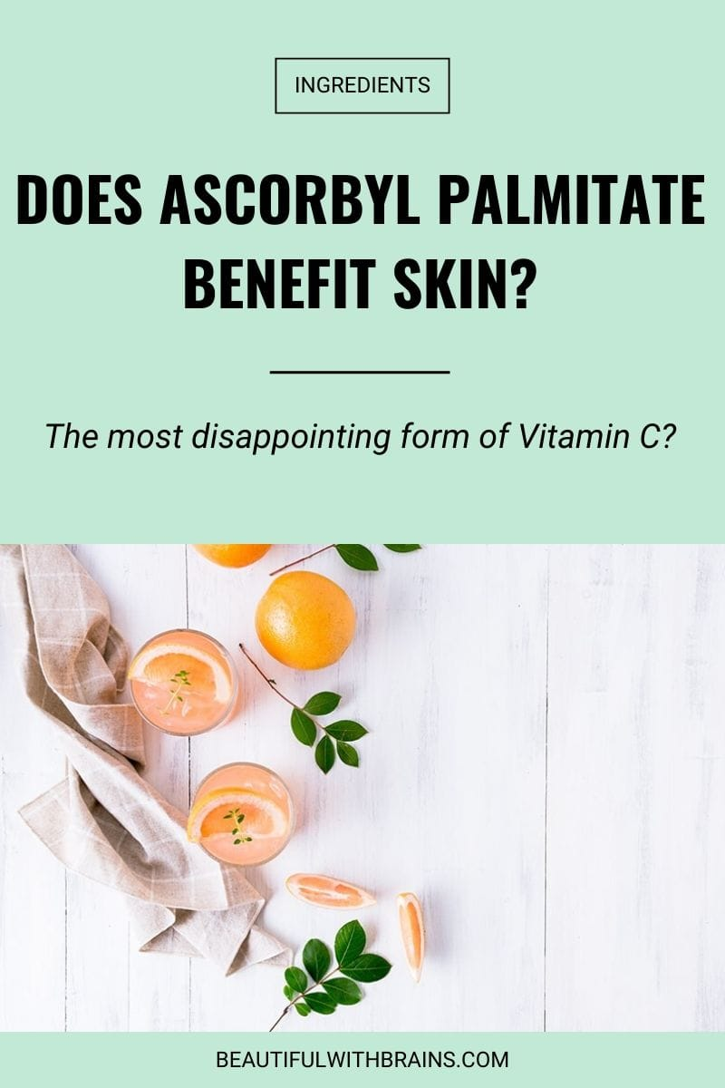 ascorbyl palmitate skincare