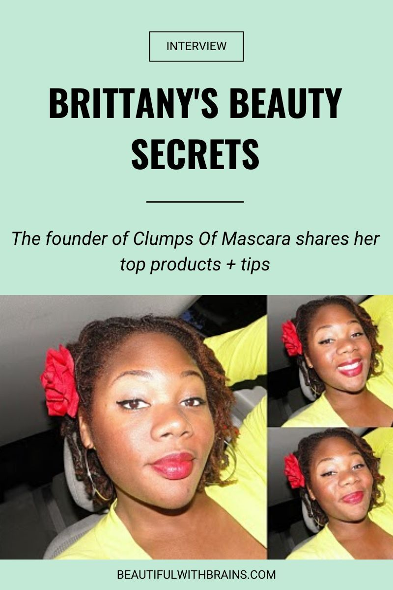 brittany clumps of mascara interview