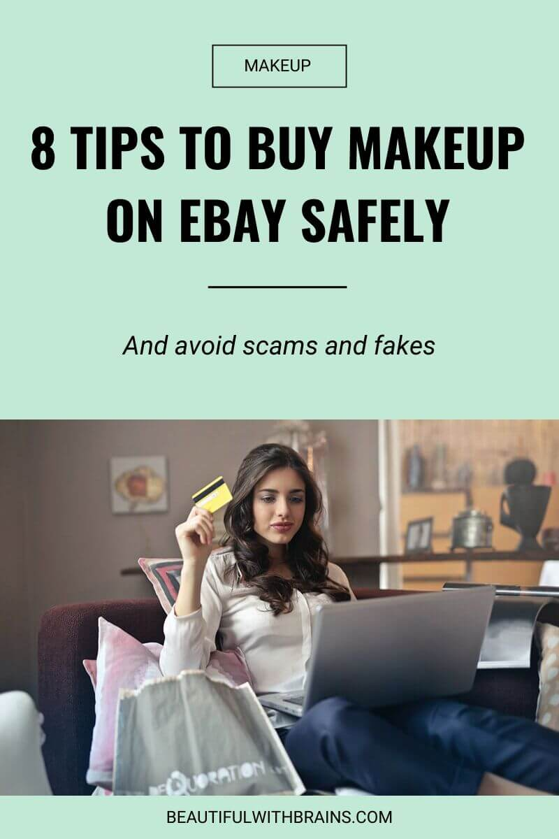 tips to buy makeup on ebay
