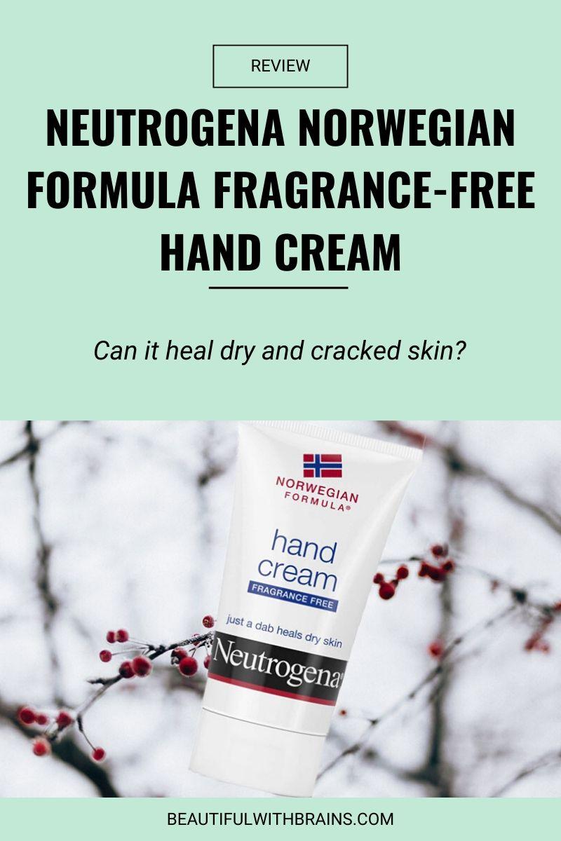 review neutrogena norwegian formula fragrance-free hand cream
