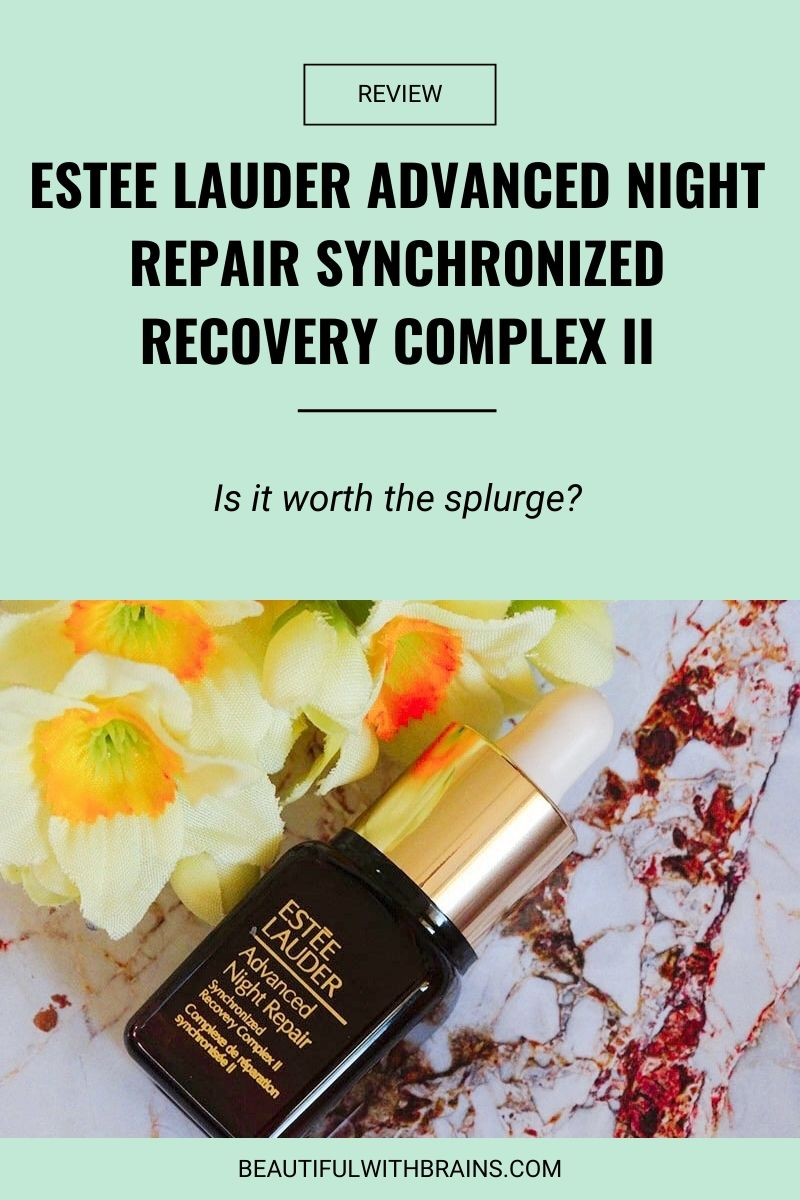 review estee lauder advanced night repair synchronized recovery complex II