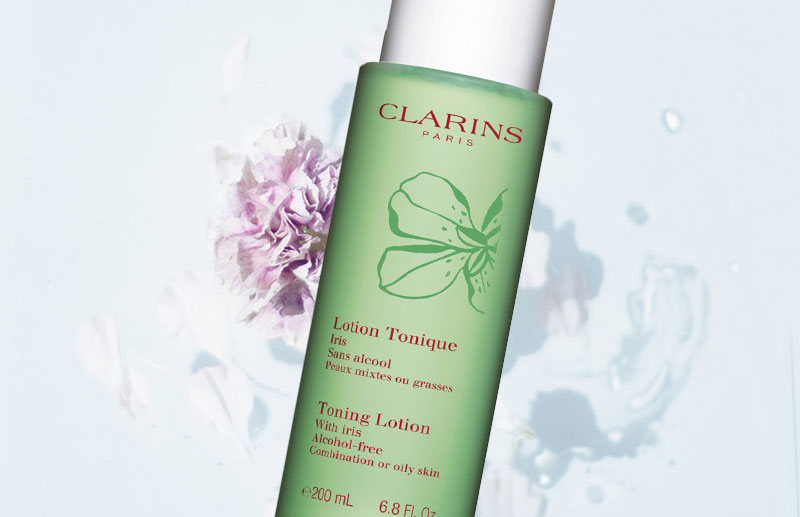 Clarins Toning Lotion with iris review