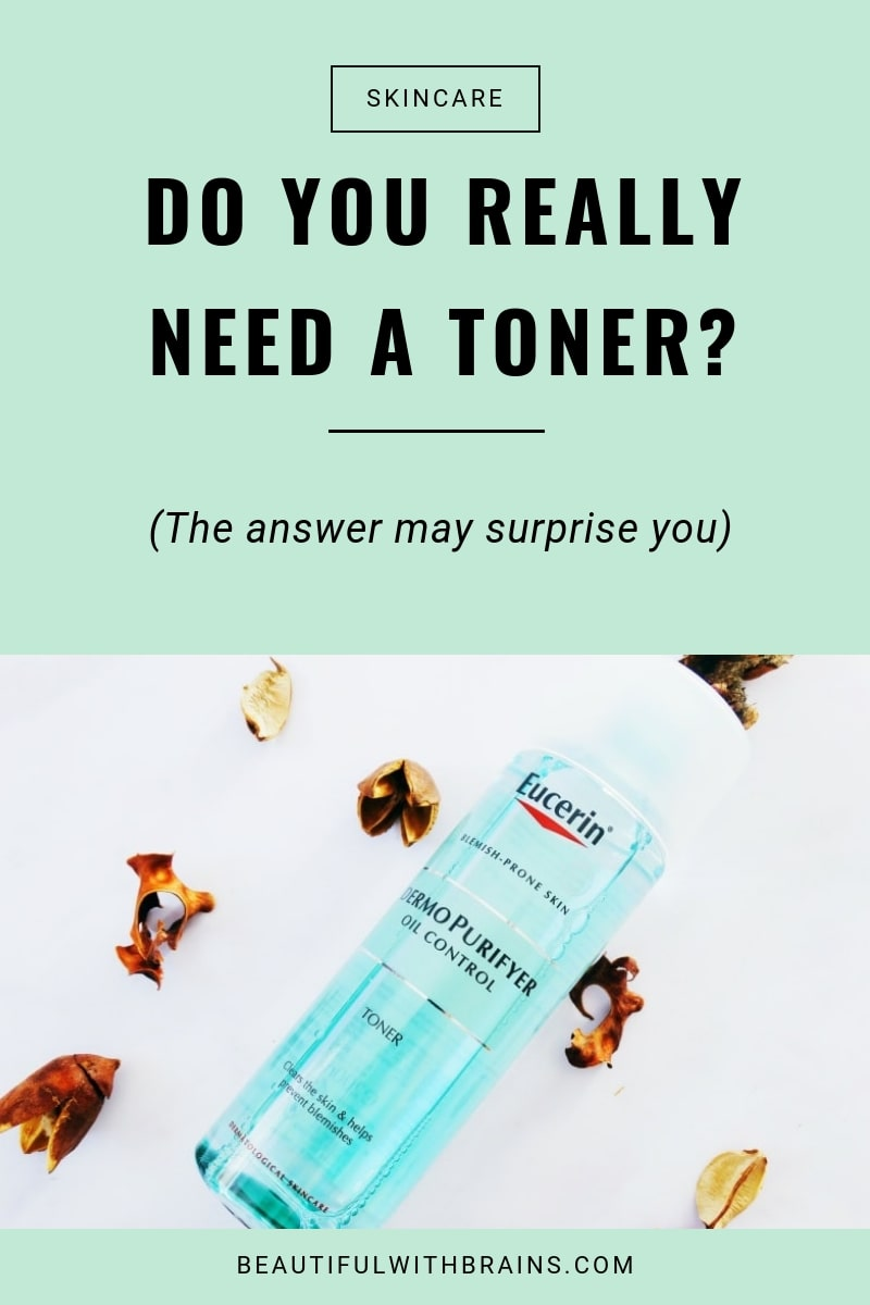 Do you really need to use a #toner ? #skin #skincare #oilyskin #dryskin