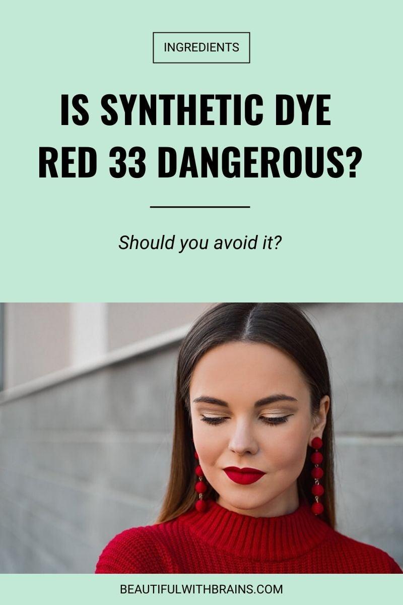 dye red 33