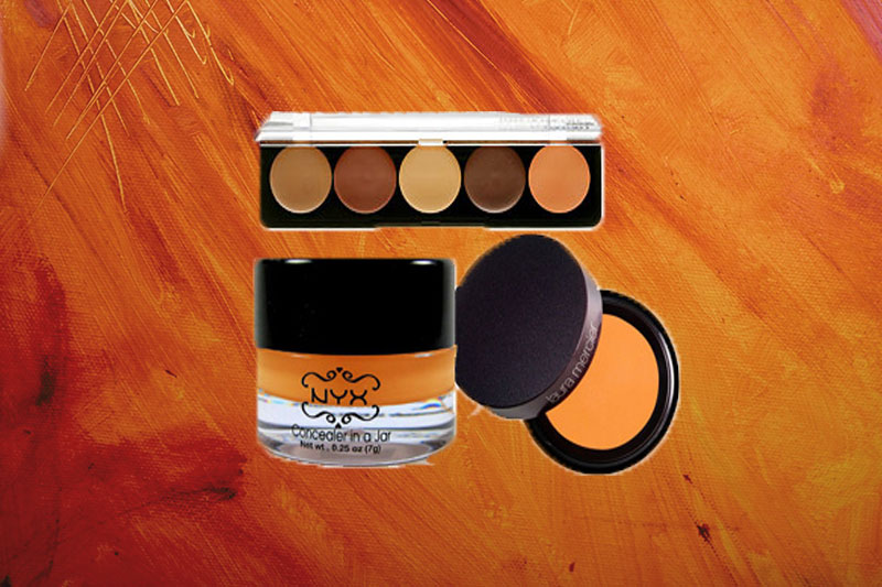 guide to orange concealer