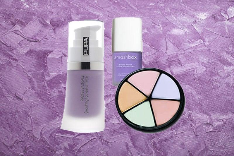 purple concealer guide