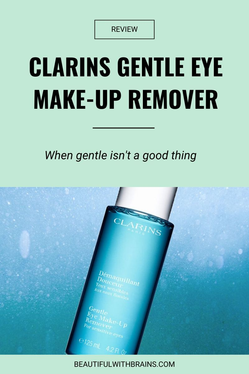 review clarins gentle eye make-up remover