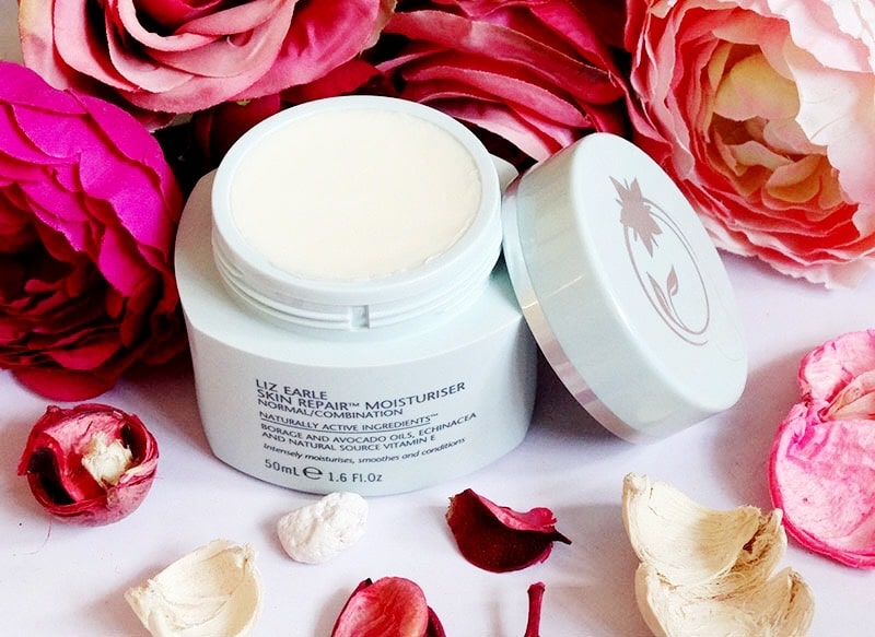 liz earle skin repair moisturiser normal combination review