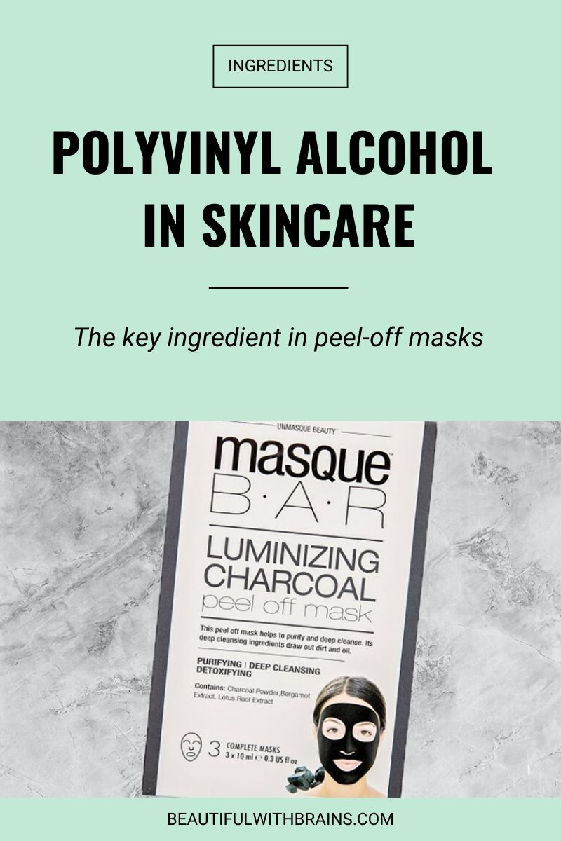 polyvinyl alcohol in skincare