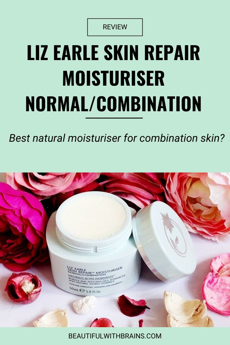 review liz earle skin repair moisturiser normal combination