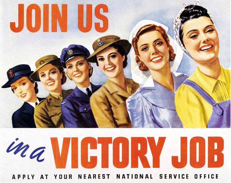 beauty history world war I
