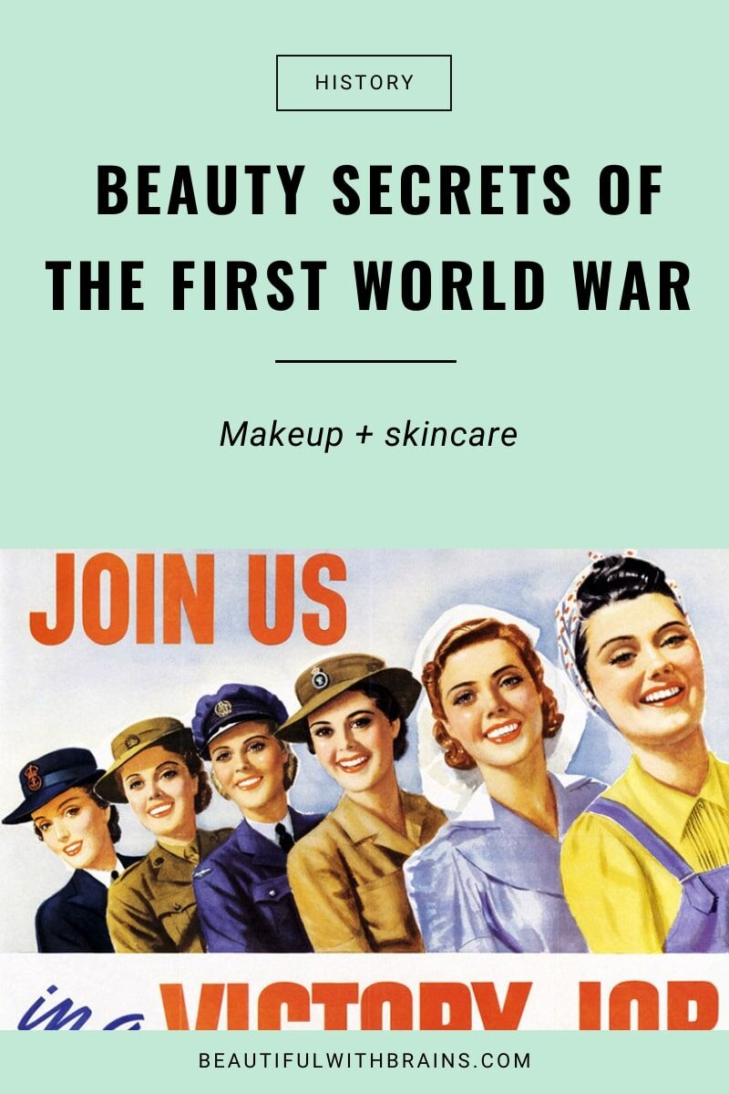 cosmetics during world war I
