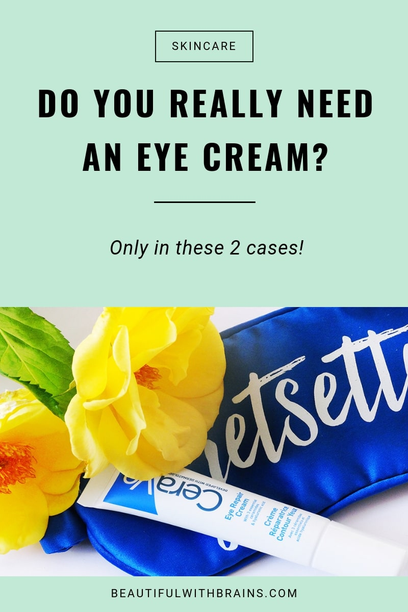 Why you don't need an eye cream