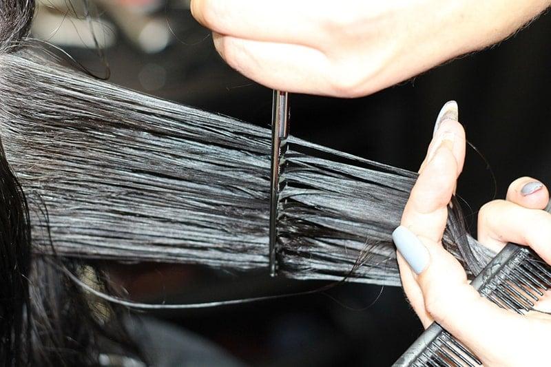 hair combing damage