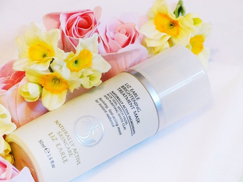 review liz earle brightening treatment mask