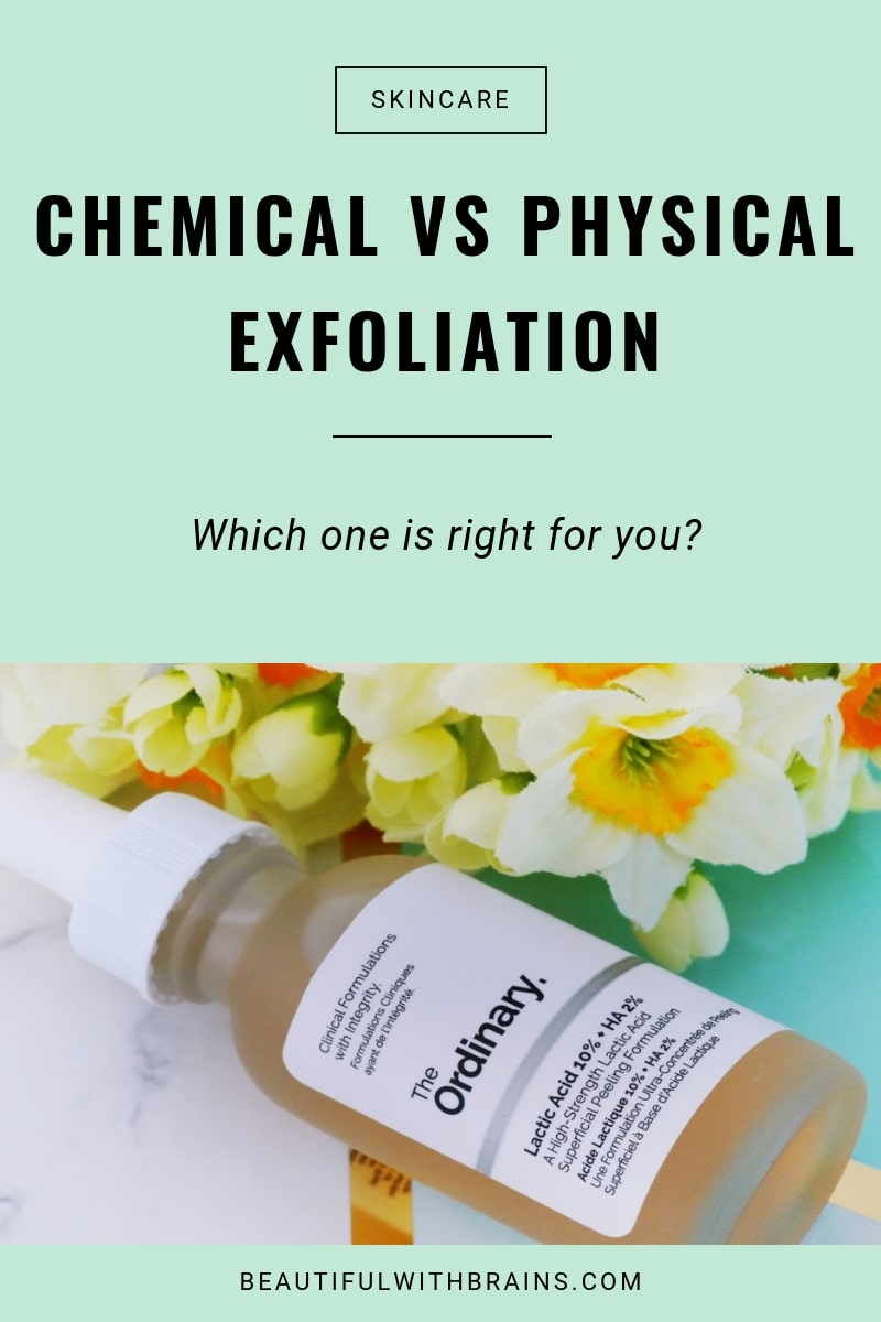 difference between chemical and physical exfoliation