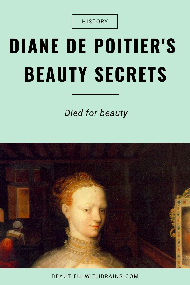 the beauty secrets of diane de poitiers