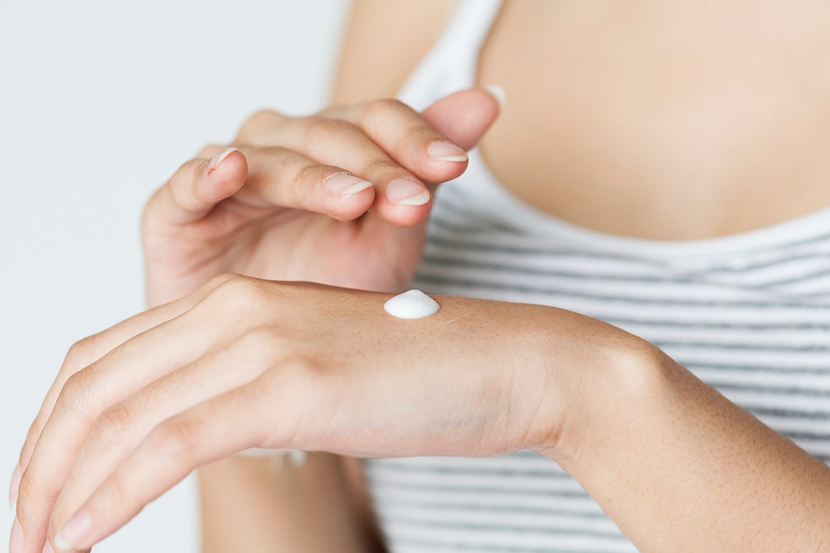 are you applying sunscreen to your hands?