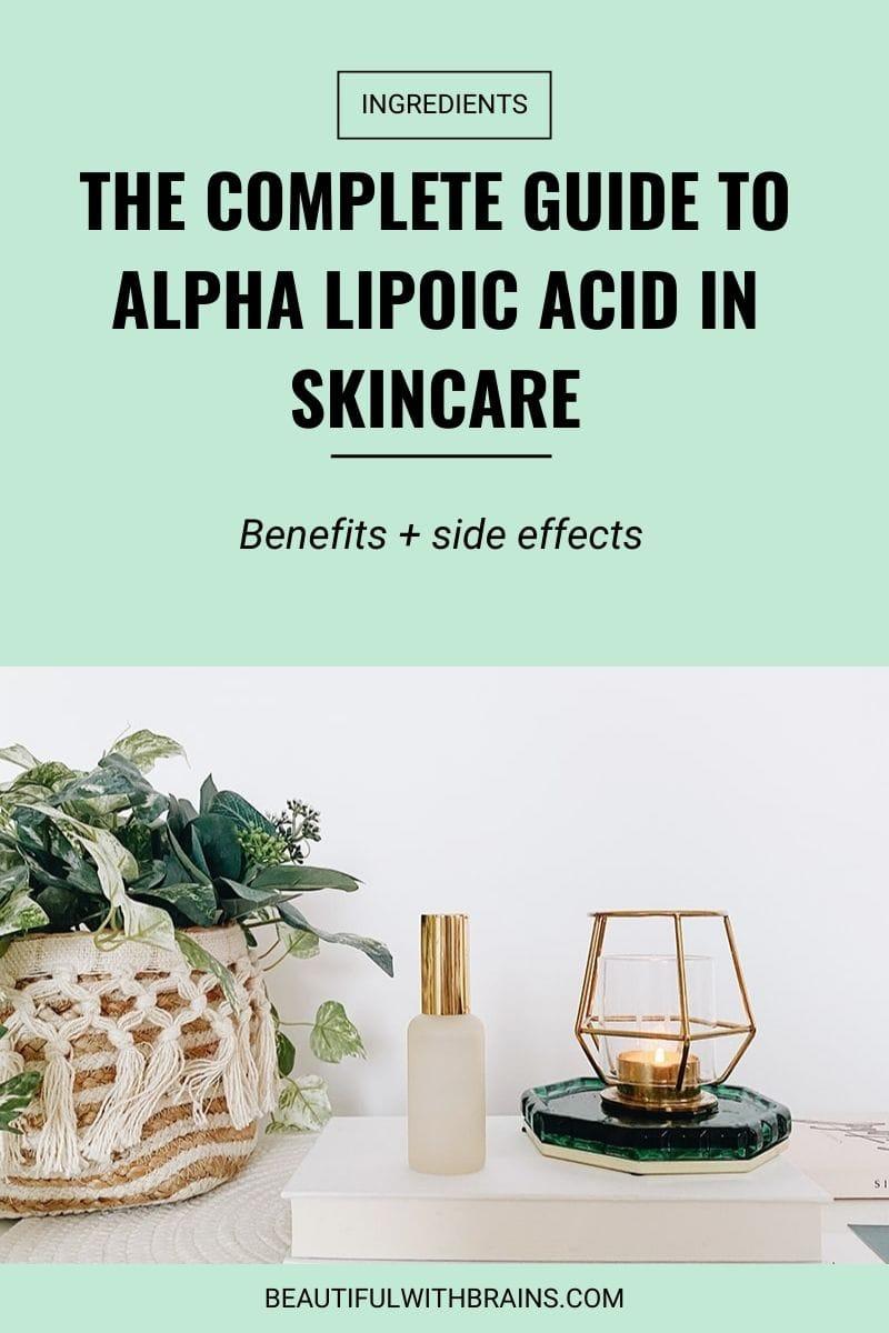 alpha lipoic acid skincare benefits
