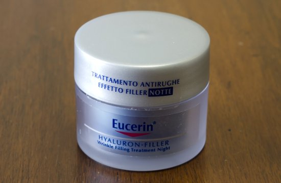 eucerin hyaluron filler treatment night