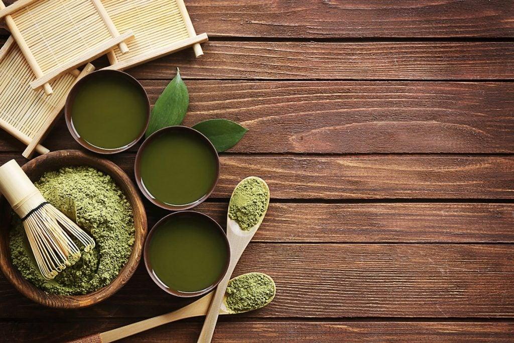 green tea in skincare