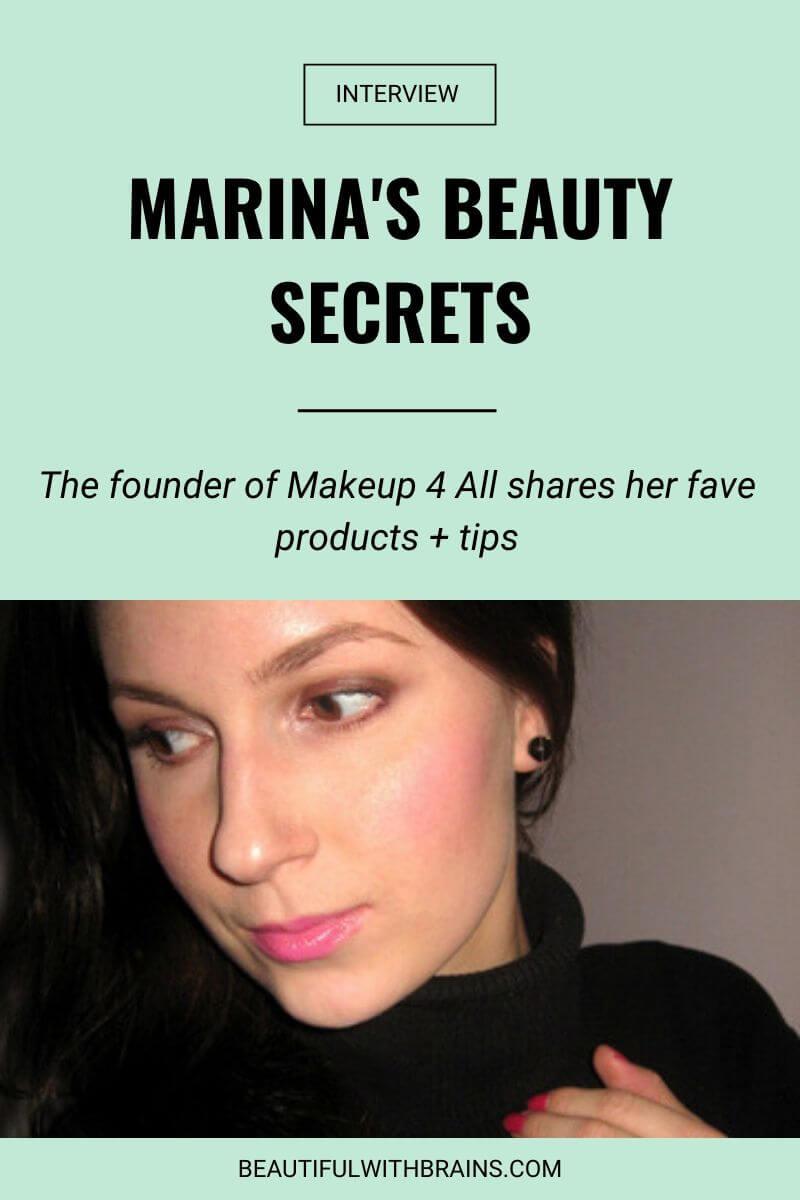 marina makeup4all interview