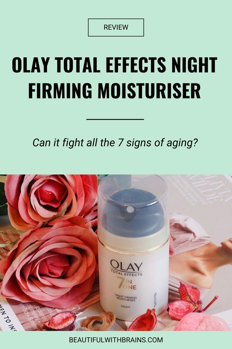 olay total effects 7 in 1 night firming moisturiser review