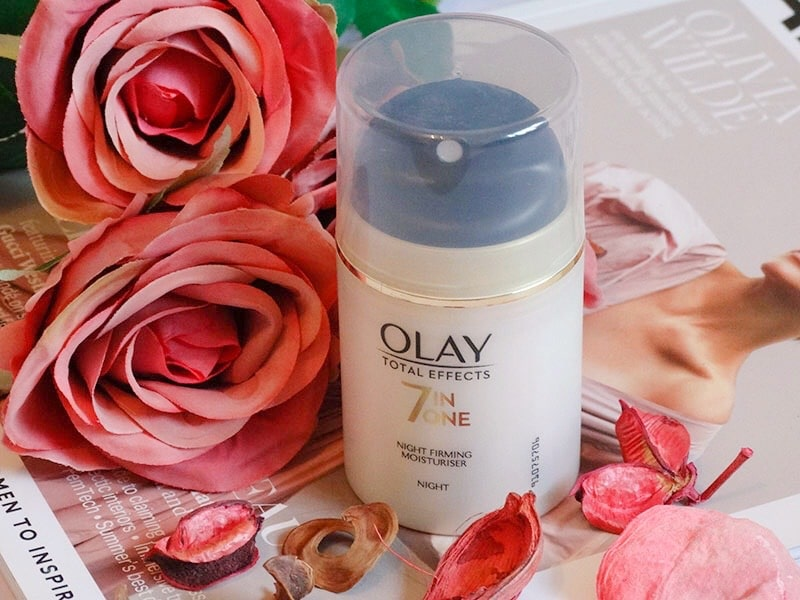review olay total effects 7 in one night firming moisturiser