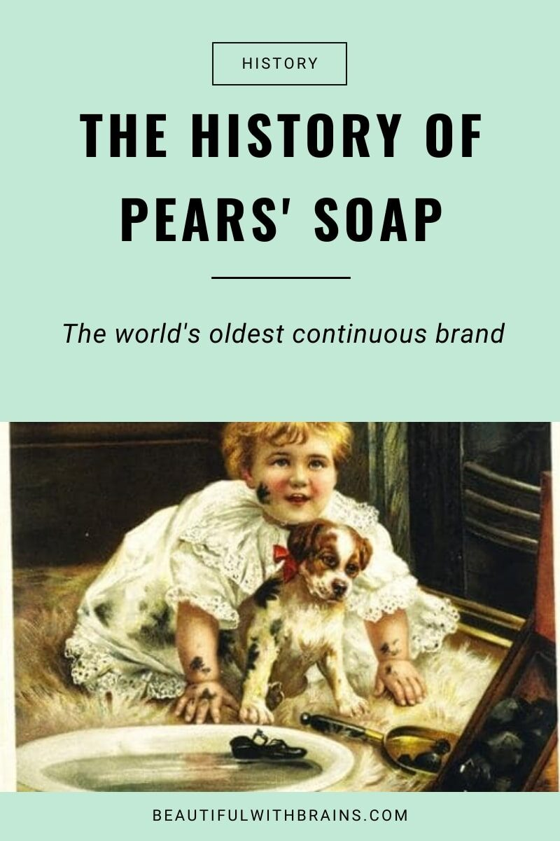 history of pears soap