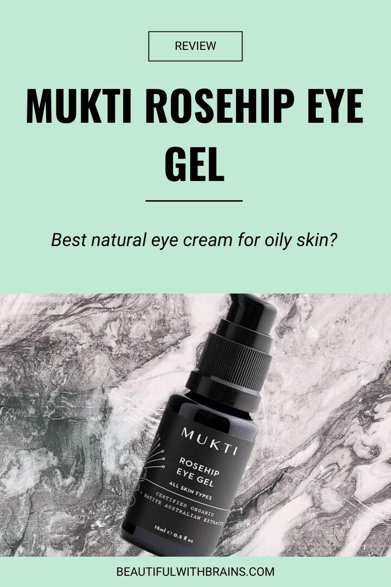 review mukti rosehip eye gel