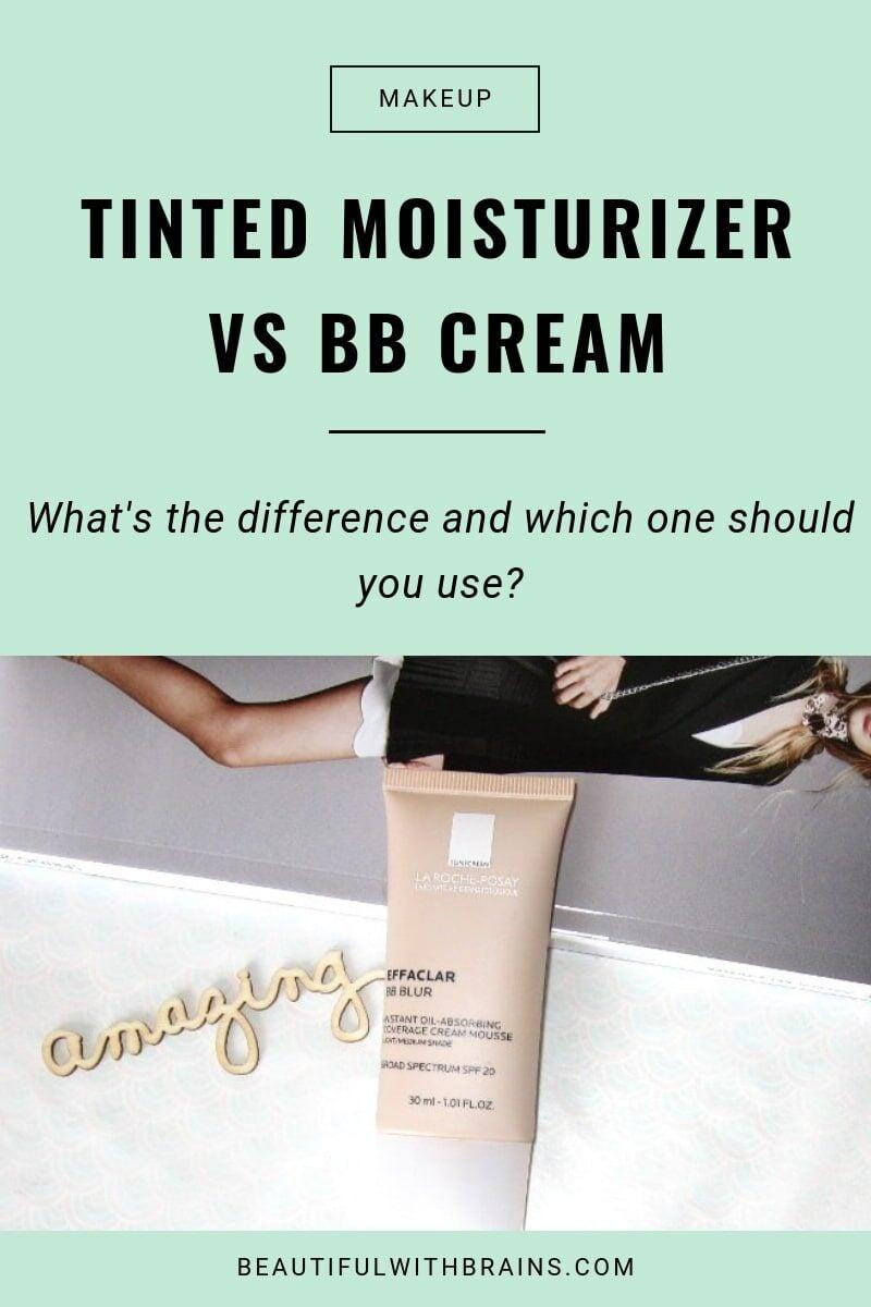bb creams vs tinted moisturizer
