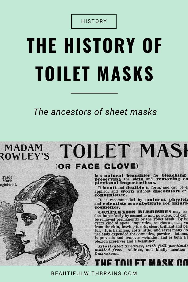 toilet masks