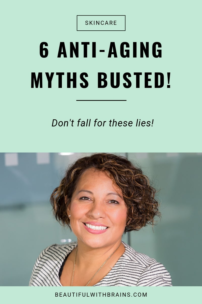 6 antiaging myths