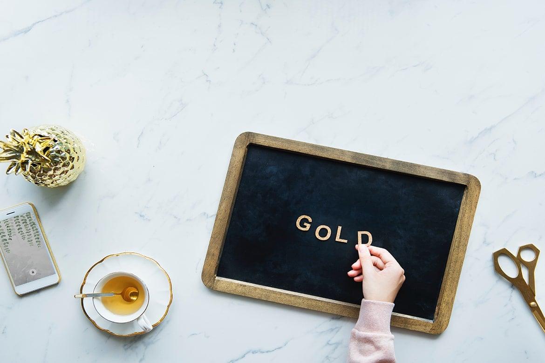 gold in skincare
