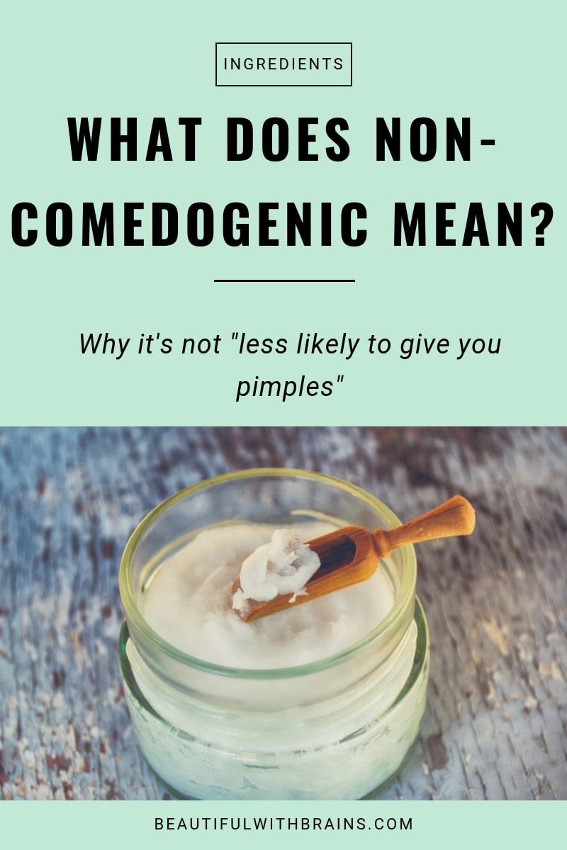 what does non-comedogenic mean