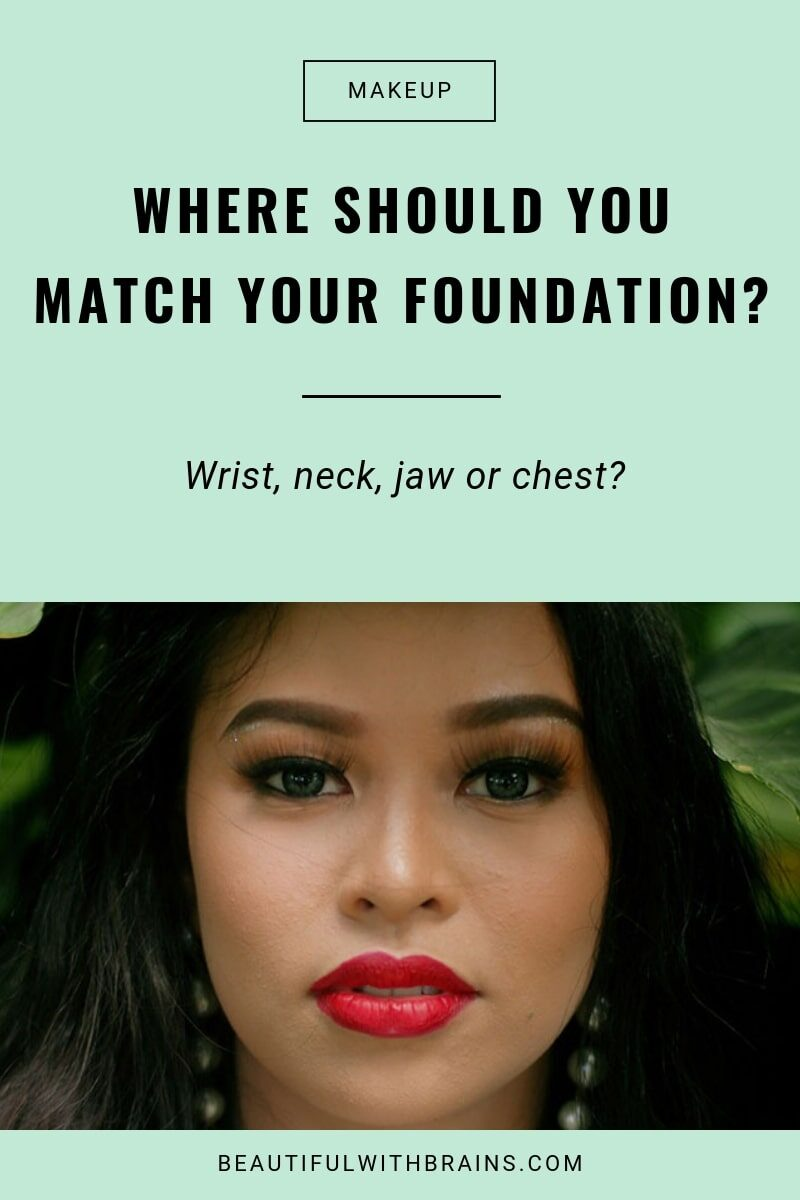 where to match foundation