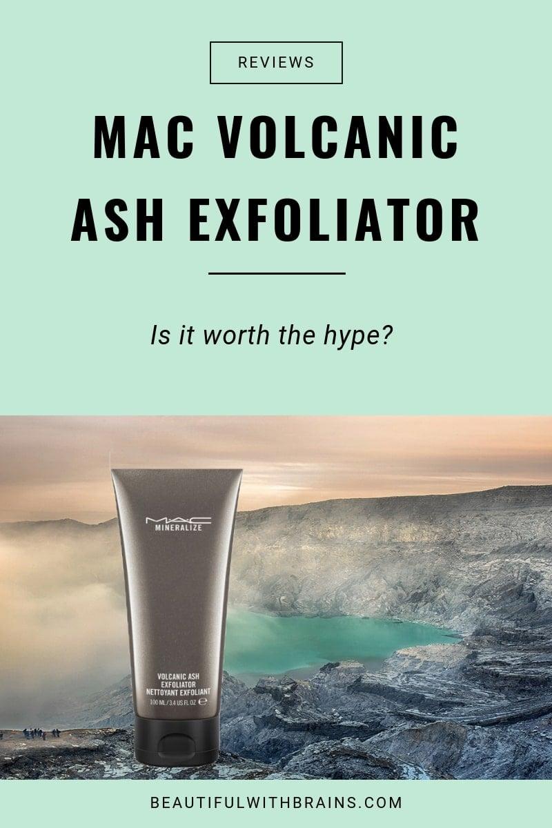review mac volcanic ash exfoliator