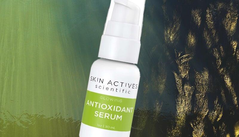 skin actives antioxidant facial serum