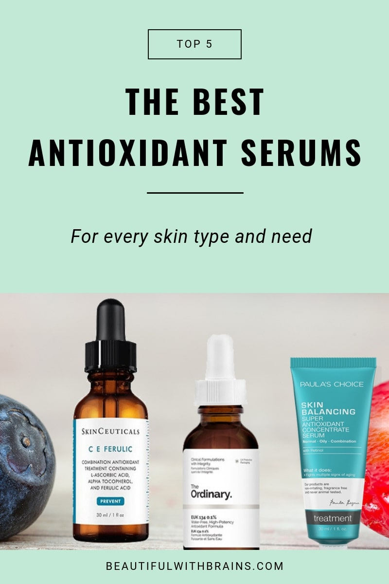 5 best antioxidant serums