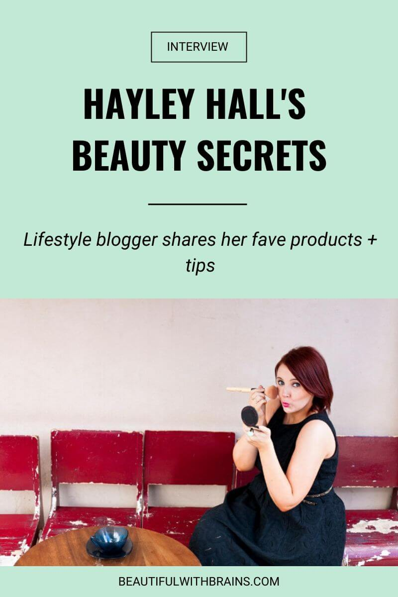 hayley hall beauty interview